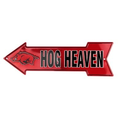 Arkansas Razorbacks Merchandise - Arrow Sign