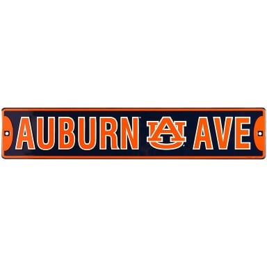 Auburn Tigers Merchandise - Street Sign