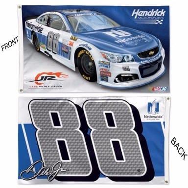NASCAR Merchandise - Dale Earnhardt Jr Deluxe Flag