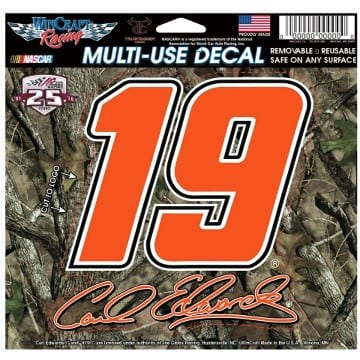 NASCAR Carl Edwards Camo Decal