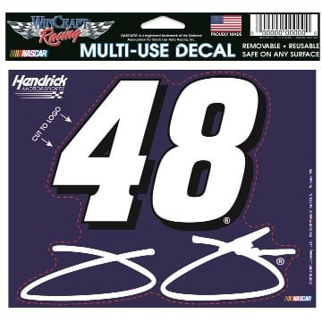 NASCAR Jimmie Johnson Multi Use Decal