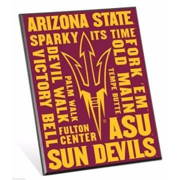 ASU Sun Devils Merchandise - Easel Sign