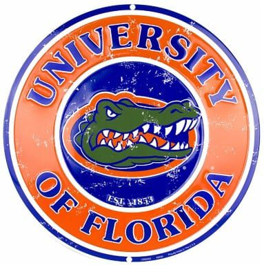 Florida Gators Merchandise - Circle Sign