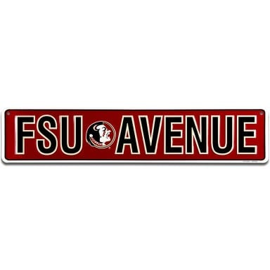 Florida State Seminoles Street Sign