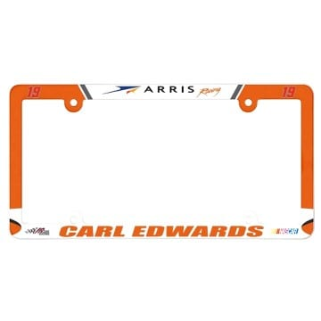 Carl Edwards Plastic License Plate Frame