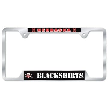 Nebraska Cornhuskers Metal License Plate Frame