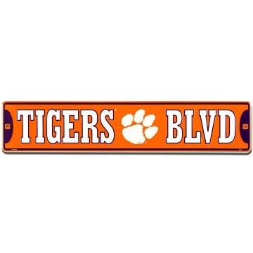 Clemson Tigers Merchandise - Street Sign