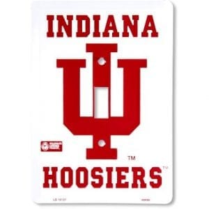 Indiana Hoosiers Light Switch Cover