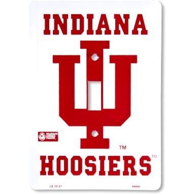 Indiana Hoosiers Merchandise - Light Switch Cover