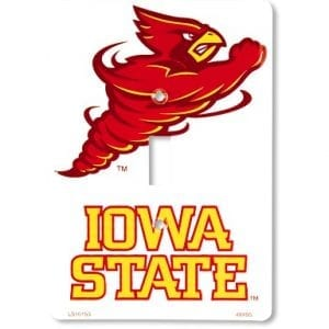 Iowa State Cyclones Light Switch Cover