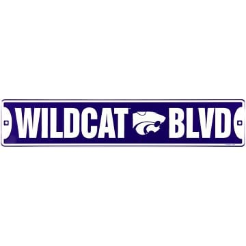 Kansas State Wildcats Merchandise - Street Sign