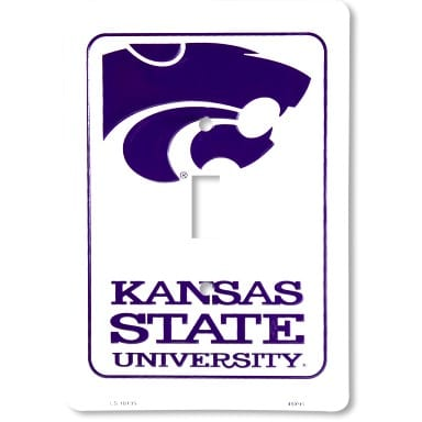 Kansas State Wildcats Merchandise - Light Switch Cover