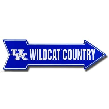 Kentucky Wildcats Merchandise - Arrow Sign