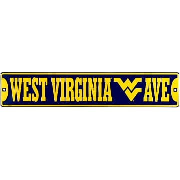 West Virginia Mountaineers Merchandise - Street Sign
