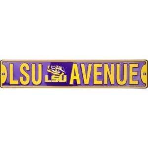 LSU TigersStreet Sign