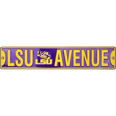 LSU Tigers Merchandise - Street Sign