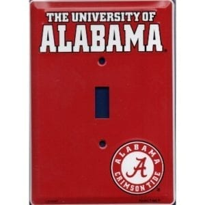 Alabama Crimson Tide Merchandise - Light Switch Cover