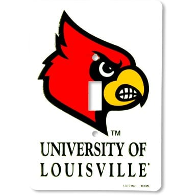 Louisville Cardinals Merchandise - Light Switch Cover
