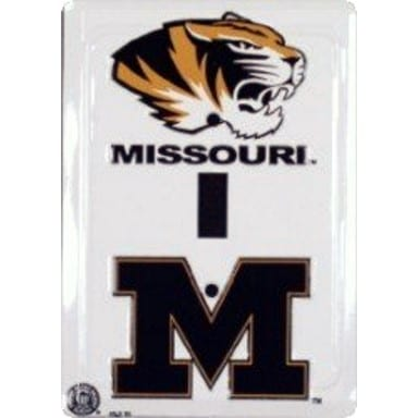 Missouri Tigers Merchandise - Light Switch Cover