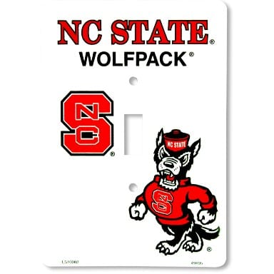 NC State Wolfpack Merchandise - Light Switch Cover