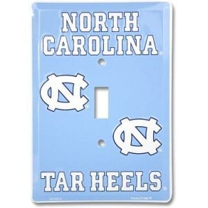 North Carolina Tar Heels Light Switch Cover