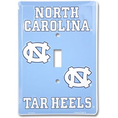 North Carolina Tar Heels Merchandise - Light Switch Cover