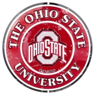 Ohio State Buckeyes Merchandise - Circle Sign