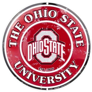 Ohio State Buckeyes Merchandise - Circle Sign