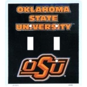 Oklahoma State Cowboys Double Switch Cover