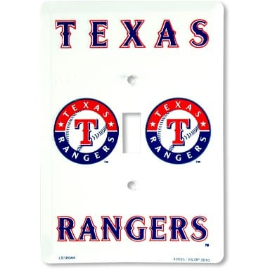 Texas Rangers Merchandise - Light Switch Cover