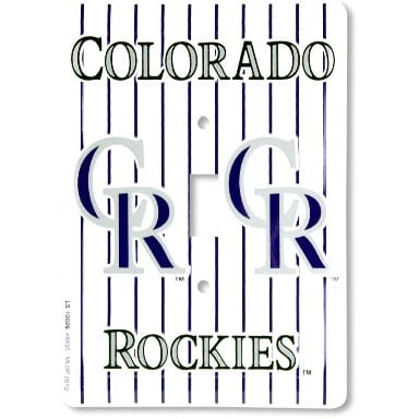 Colorado Rockies Merchandise - Light Switch Cover
