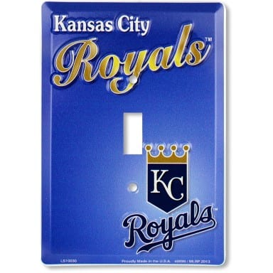 Kansas City Royals Light Switch Cover