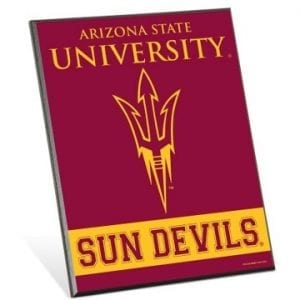 Arizona State Sun Devils Easel Sign