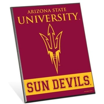 Arizona State Sun Devils Merchandise - Easel Sign