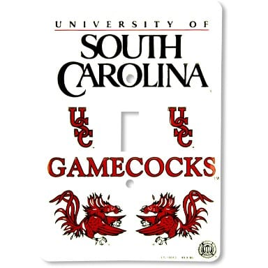 South Carolina Gamecocks Merchandise - Light Switch Cover