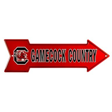 South Carolina Gamecocks Merchandise - Arrow Sign