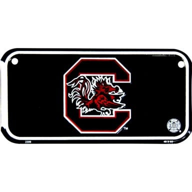South Carolina Gamecocks Bike License Plate