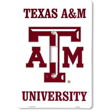 Texas A&M Aggies Merchandise - Light Switch Cover