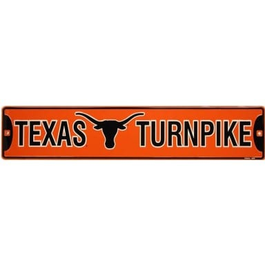 Texas Longhorns Street Sign