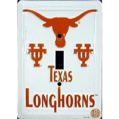 Texas Longhorns Light Switch Cover