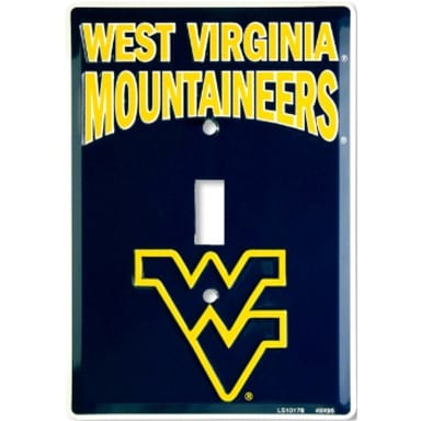 West Virginia Mountaineers Light Switch Cover