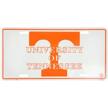 Tennessee Volunteers Merchandise - Metal License Plate