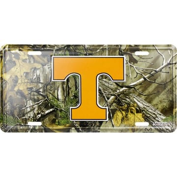 Auto Tag - Tennessee Volunteers Camo