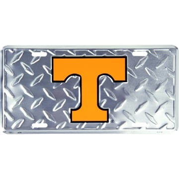 Tennessee Volunteers Merchandise - Diamond License Plate