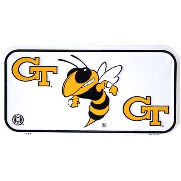 Georgia Tech Yellow Jackets Merchandise - Bike License Plate