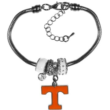 Tennessee Volunteers Merchandise - Euro Bead Bracelet