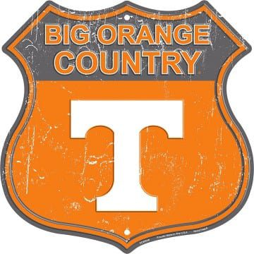 Tennessee Volunteers Merchandise - Highway Sign