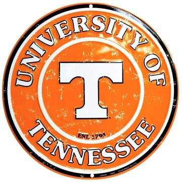Circle Sign - Tennessee Volunteers