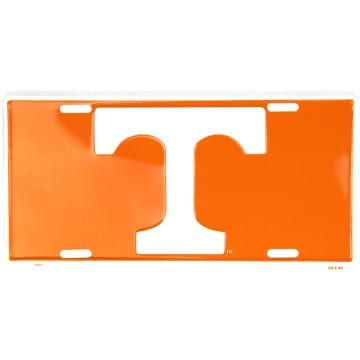 Tennessee Volunteers Orange License Plate