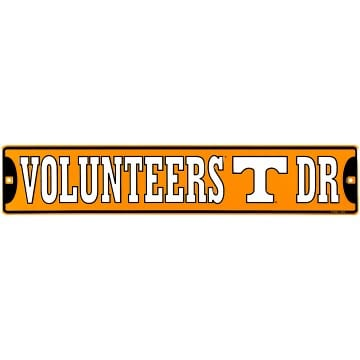 Street Sign - Tennessee Volunteers